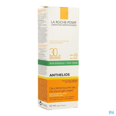LRP ANTHELIOS DRY TOUCH SPF30 50ML