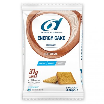 6D ENERGY CAKE NATURAL 44G