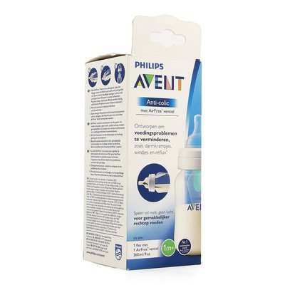 PHILIPS AVENT ANTI COLIC ZUIGFLES 260ML