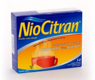 NIOCITRAN POEDER ZAKJES 14 X 6 GRAM