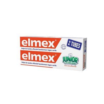 ELMEX JUNIOR TANDP TUBE 2 X 75ML