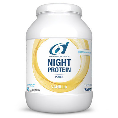 6D NIGHT PROTEIN VANILLA 780G