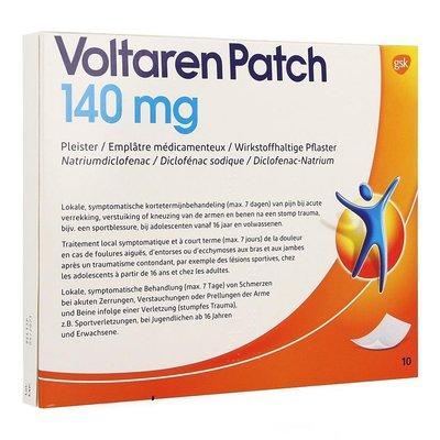 VOLTAREN PATCH 140MG PLEISTER 10 STUKS