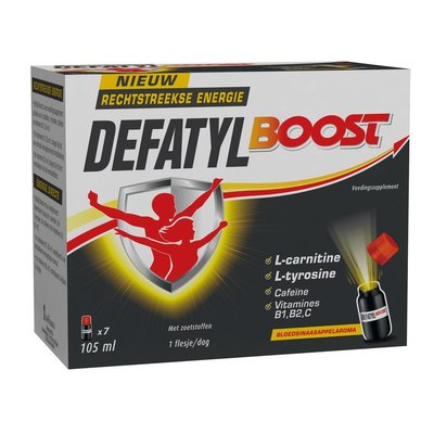 DEFATYL BOOST 7X15ML FLACONS