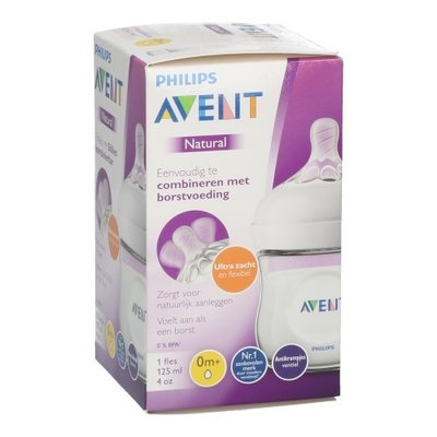PHILIPS AVENT NATURAL 2.0 ZUIGFLES 120ML