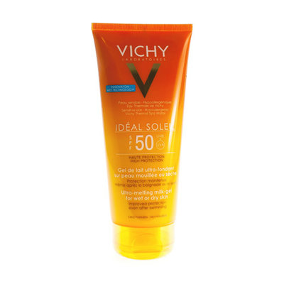 VICHY IDEAL SOLEIL SPF50 GEL MELK ULTRA SMELTEND 200ML