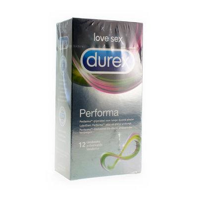 DUREX PERFORMA CONDOOMS 12