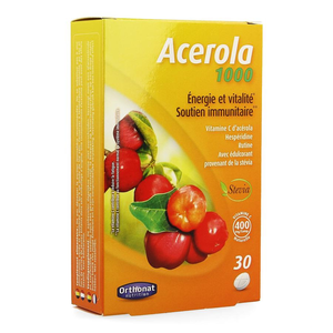 ACEROLA VITAMINE C 1000  COMP 30 ORTHONAT