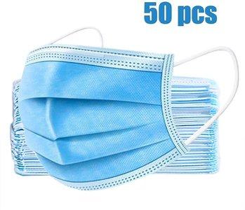 Chirurgische mondmaskers 50st in 1 doos