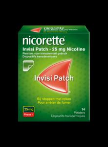 NICORETTE INVISI 25MG PATCH 28 STUKS TRANSDERMAAL