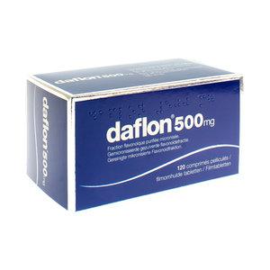 DAFLON 500 COMP 120X500MG