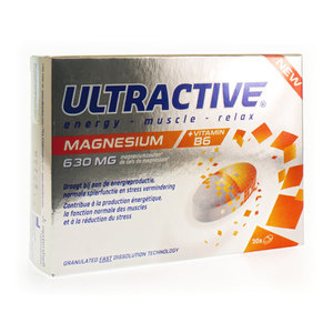 ULTRACTIVE ENERGY MUSCLES RELAX COMP 30