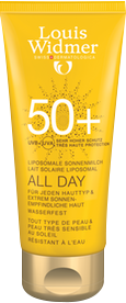 WIDMER SUN ALL DAY SPF50 MET PARFUM TUBE 100ML