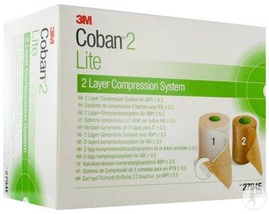 COBAN LITE 3M KOMPRESSIESYSTEEM 2 LAGEN ROL 2